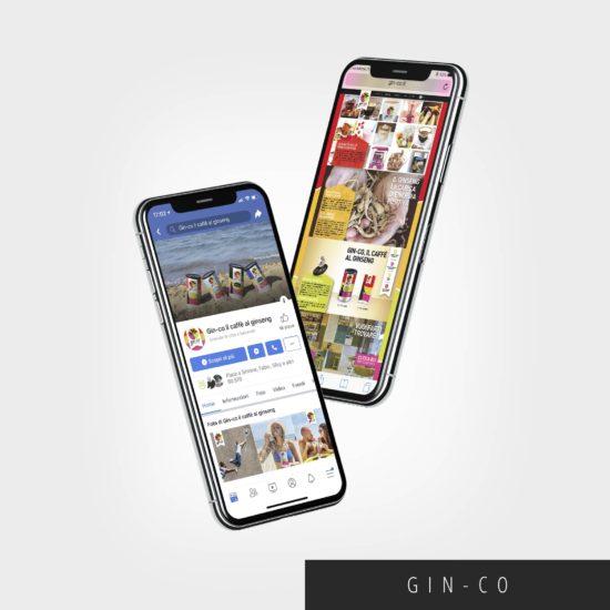 immagine di copertina per Creazione sito web e contents management di Gin-co