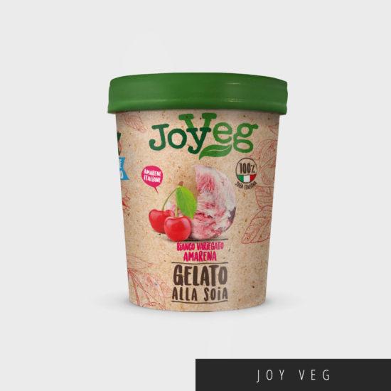 immagine di copertina per il packaging gelati Joyveg a base di soia